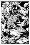Spiderman Vs Venom By Marcio Abreu