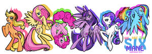 We Are The Mane Six