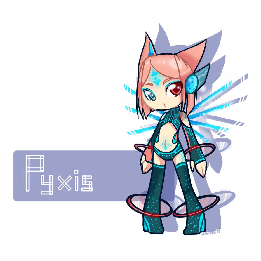 :OC: Pyxis by oddlittleleaf
