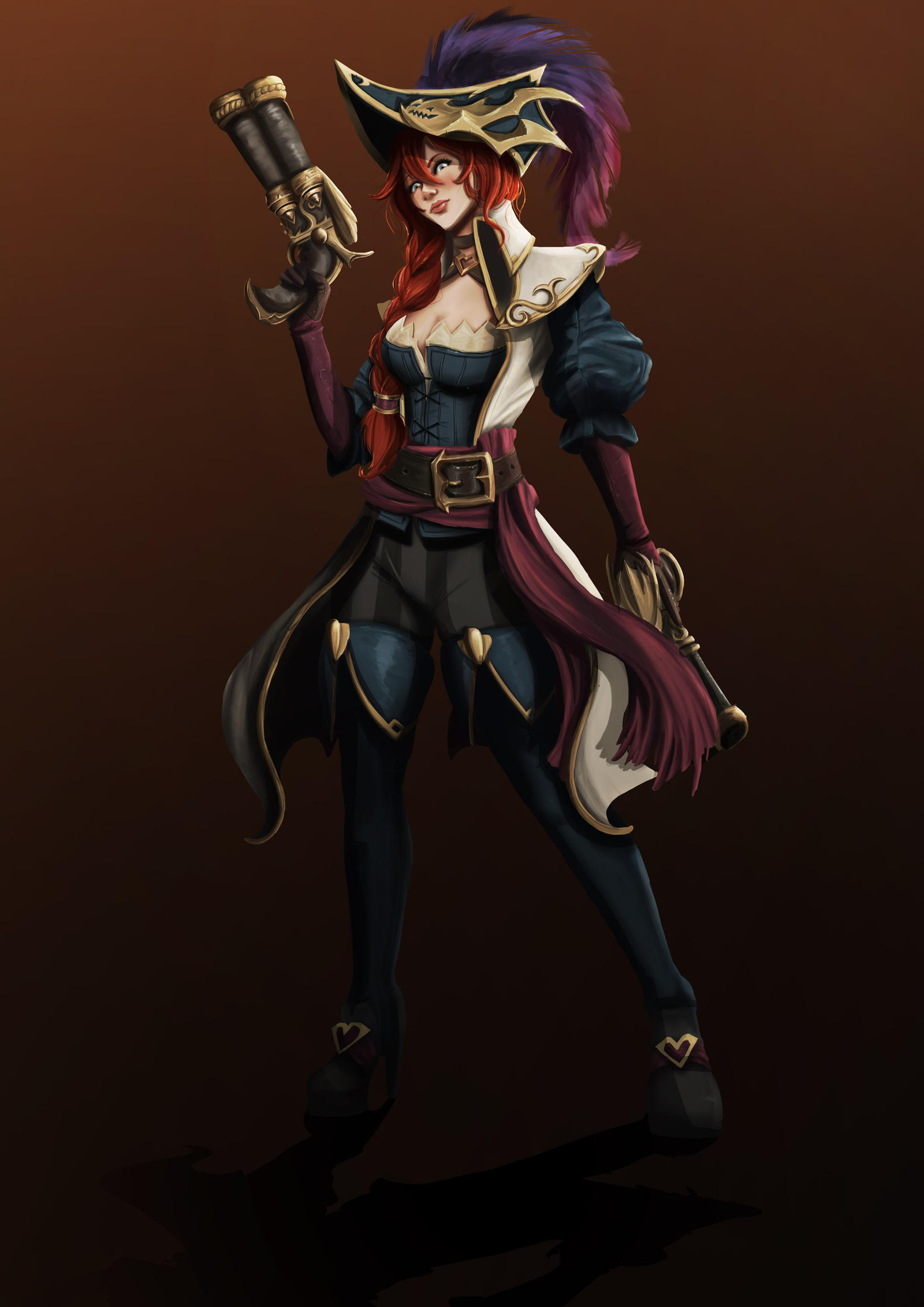 FanArt Captain Fortune by Pandhes