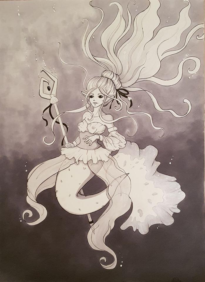 Mermaid by Pandhes