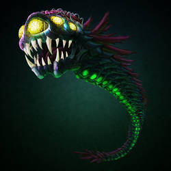 MDB Bestiary - Serris by TheIllustrativeMan