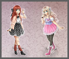 [CE] Vanirue Outfits by Cakestellation
