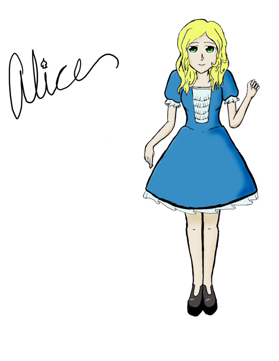 Alice at first before edit by japanerd1