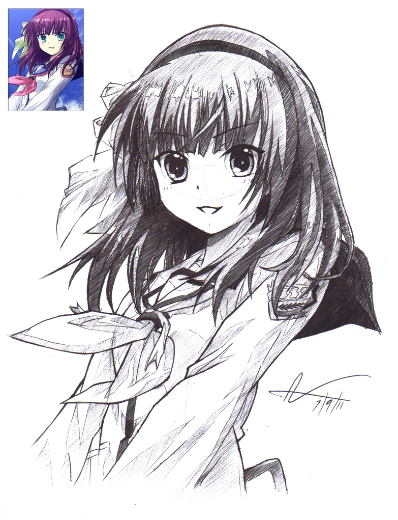 yurippe pen drawing by destryker on yurippe pen drawing by destryker17