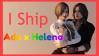 Ada Wong x Helena Harper stamp by VampireHelenaHarper