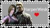 Harperwesk Helena Harper X Albert Wesker by VampireHelenaHarper