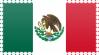 Mexico Flag Stamp by VampireHelenaHarper