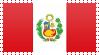 Peru Flag Stamp by VampireHelenaHarper