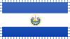 El Salvador Flag Stamp by VampireHelenaHarper