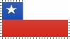 Chile Flag Stamp by VampireHelenaHarper