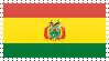 Bolivia Flag Stamp by VampireHelenaHarper