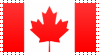 Canada Flag Stamp by VampireHelenaHarper