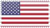 United States Flag Stamp by VampireHelenaHarper