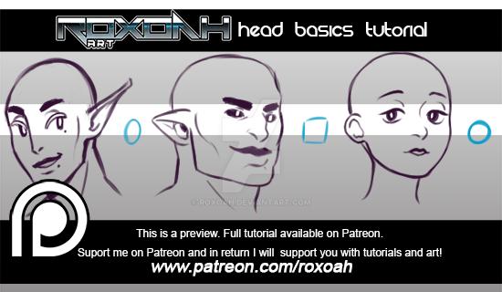 Head basics tutorial by Roxoah