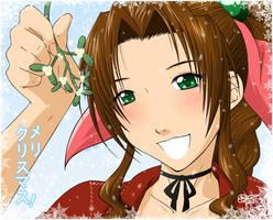 :Secret Santa: - Aeris by tigerangel