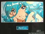 Ayacon 2011 - Hand Painted Cel by tigerangel