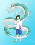 Spirited Away- Haku and Kohaku