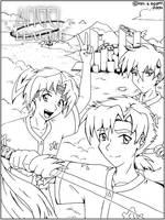Angel League Manga Pen(Edited) by tigerangel