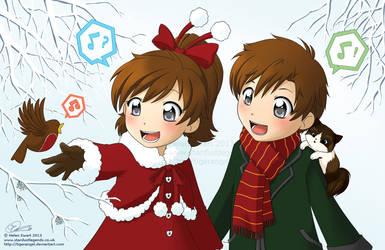 Happy Holidays 2013 by tigerangel