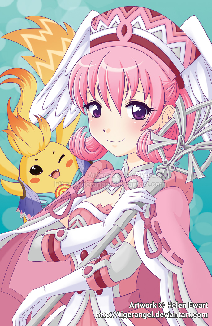 AmeCon 2016 - Member Badge Artwork by tigerangel