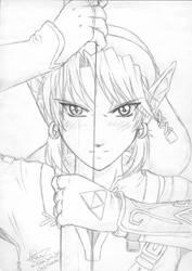 Zelda : Twilight Princess by tigerangel