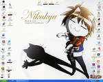 Black Cat Desktop :D