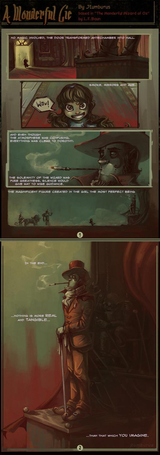 A Wonderful Lie by Jtumburus