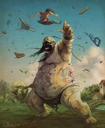 The Giant by Jtumburus