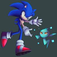 Sonic wants to use Cyan Wisp
