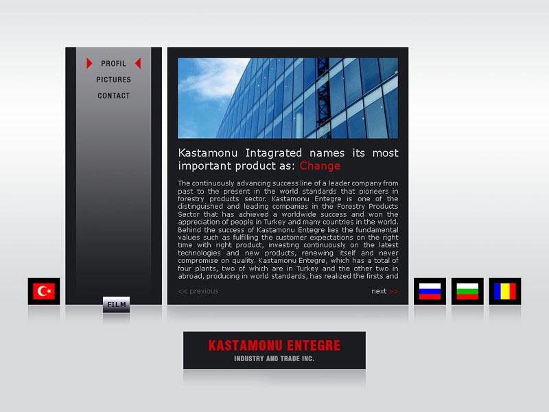 kastamonu interactive CD by designcat