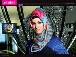armine web interface by designcat