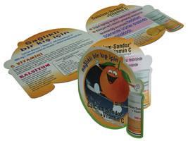 Calcium-Sandoz Vit. C Brochure by designcat
