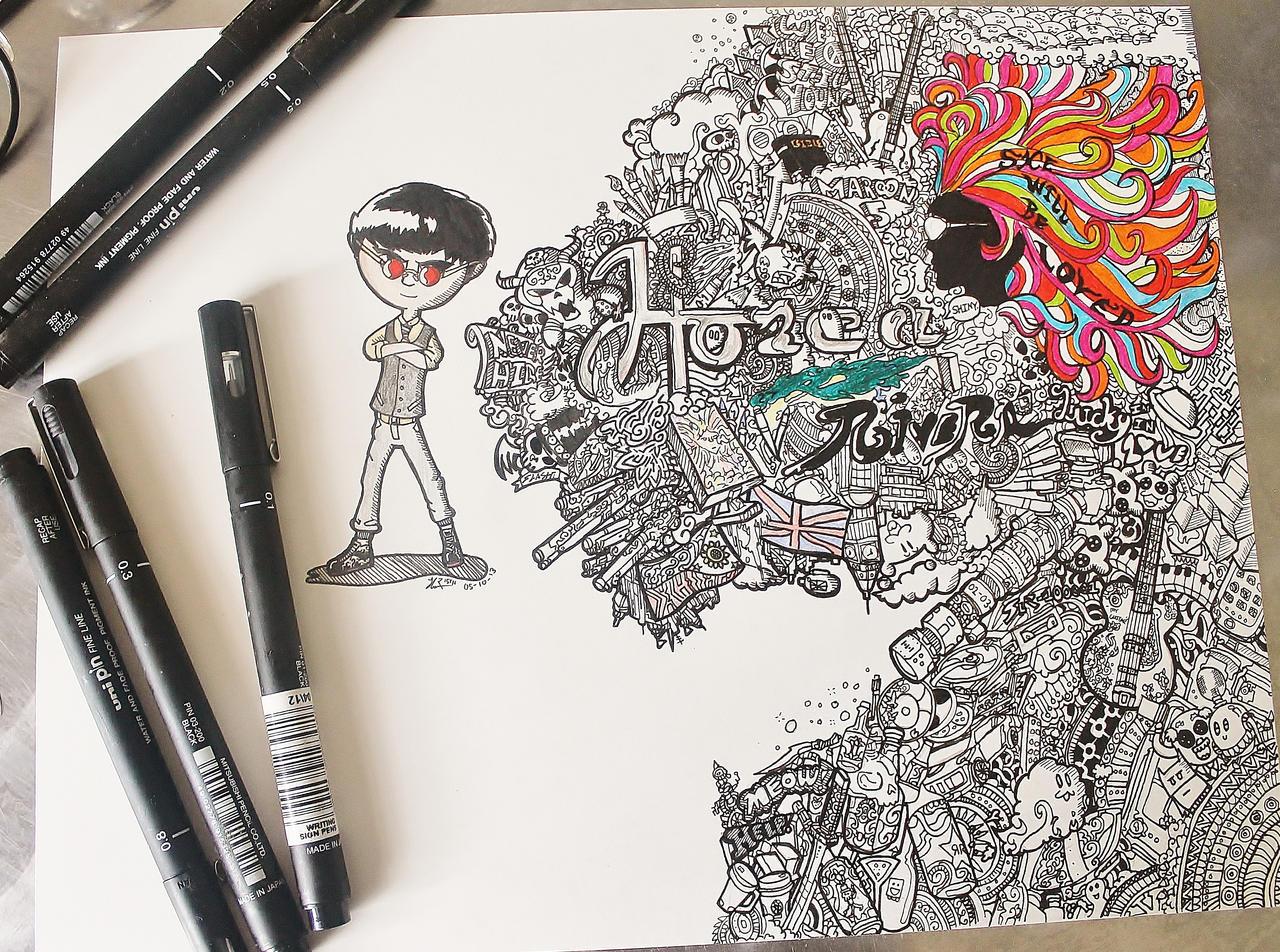 Doodling Art Viewing Gallery