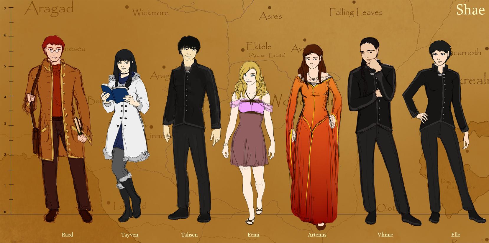 Shae - Characters by KyriaDori