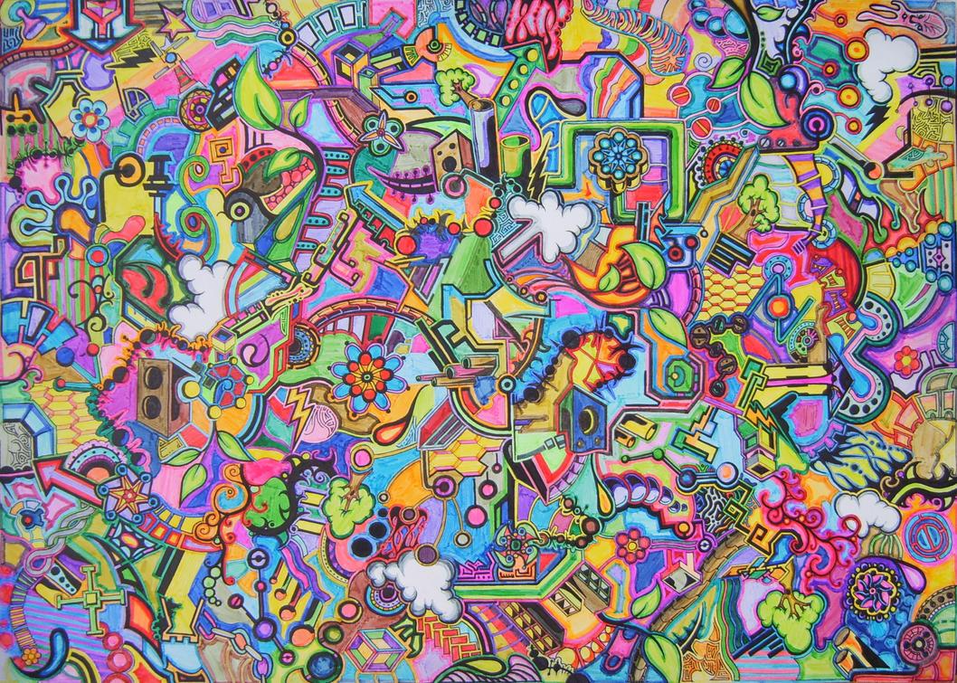 Psychedelic Patterns Photoshop