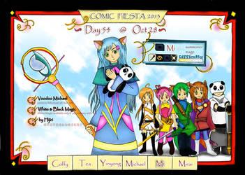 CF13: Day 54 By Hijiri by comic-fiesta
