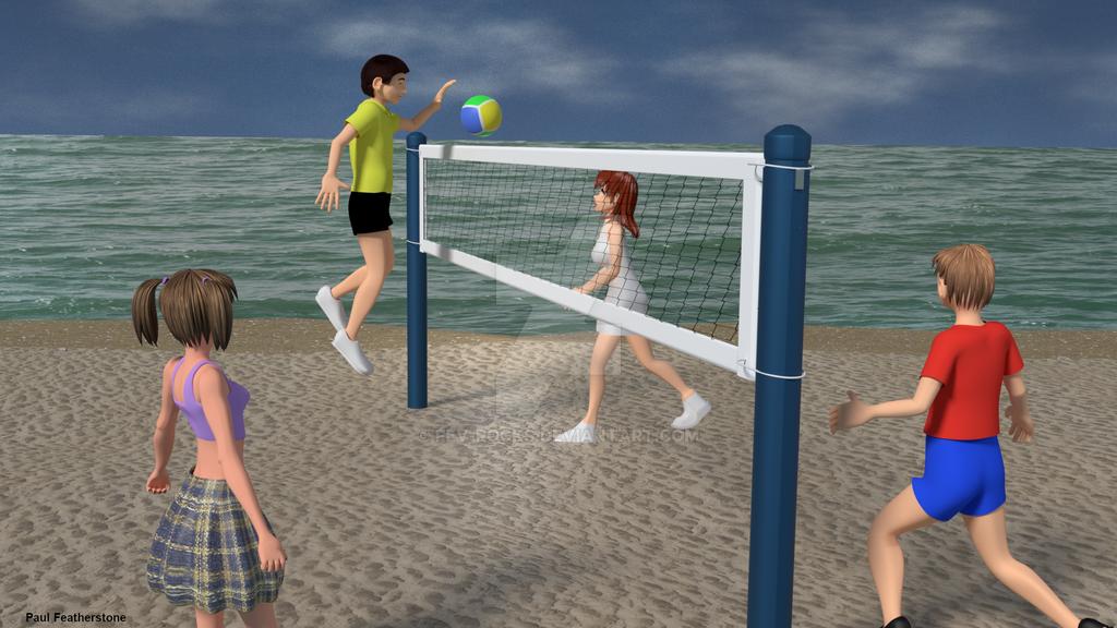 Beach Volleyball by fev-rocks