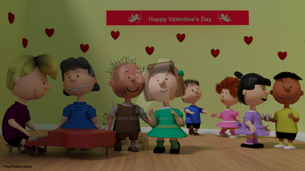 A Peanuts Valentine Part 2 of 2 by fev-rocks