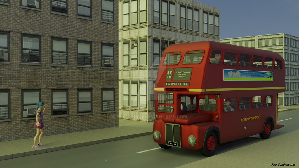 The number 15 bus by fev-rocks