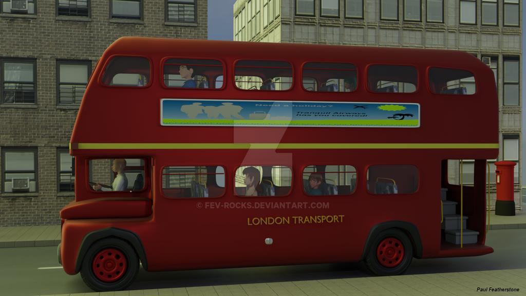 Bus journey by fev-rocks