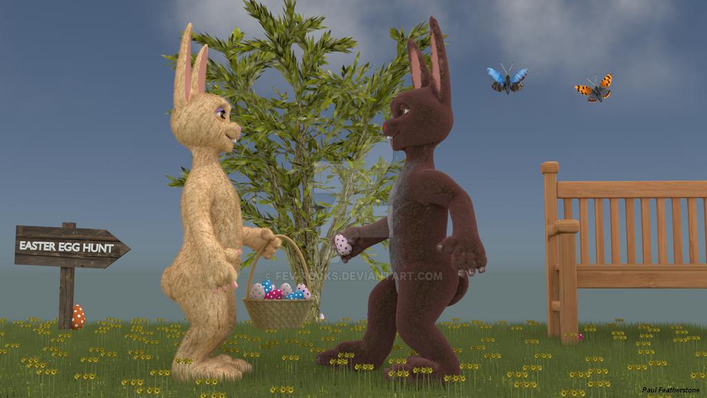 Easter Egg Hunt by fev-rocks