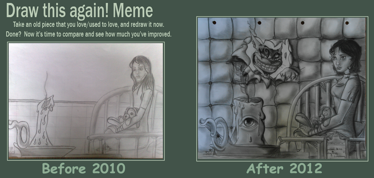 Contest 2012 Draw this again by ergoproxy92