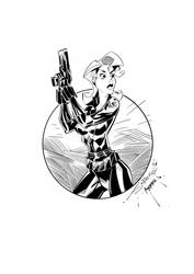 Black Widow II Ink by djantonio