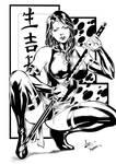 Psylocke III Ink