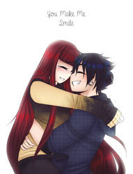 ~You Make Me Smile~ by iLiekSkittlez