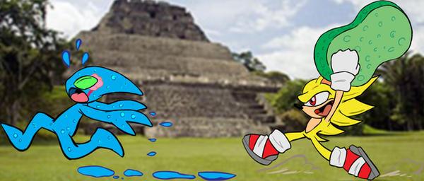Sonic is Ebil by negathus