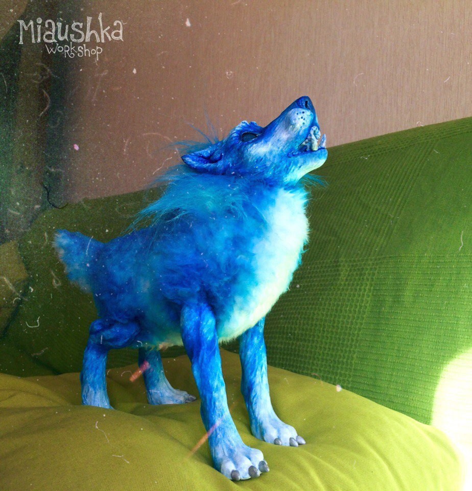Shaman Spirit Wolf Form Handmade Plushie - WoW by miaushka ...