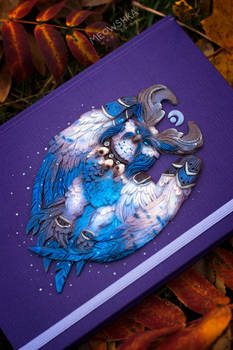 Sketchbook with Archdruid's Lunarwing Form Owl