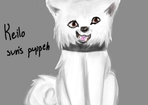 Kielo my dog by Benlover